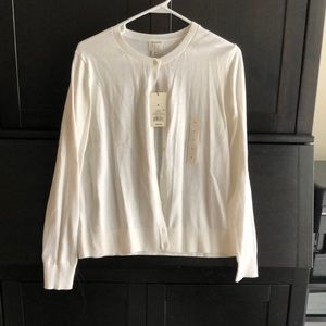 A New Day white long sleeve cardigan